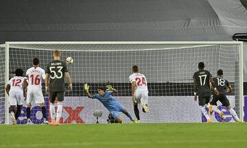 Σεβίλλη - Μάντσεστερ Γιουνάιτεντ: Γκολ με πέναλτι ο Φερνάντες για το 0-1 (vid)