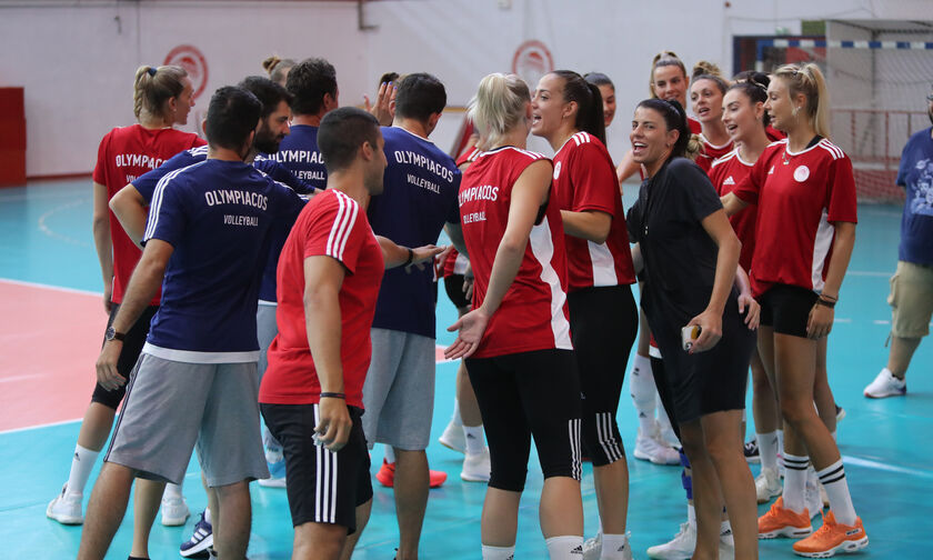 Ολυμπιακός: Ξεκίνησαν προετοιμασία τα κορίτσια στο βόλεϊ (pics)