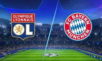 Λιόν - Μπάγερν: Για το δεύτερο εισιτήριο στον τελικό του Champions League