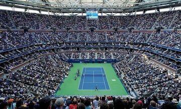 US Open: Ανακοινώθηκε το πρώτο κρούσμα κορονοϊού