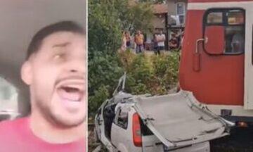 Ρουμανία:Τρένο παρέσυρε και σκότωσε τραγουδιστή ενώ έκανε live στα social media (vid)