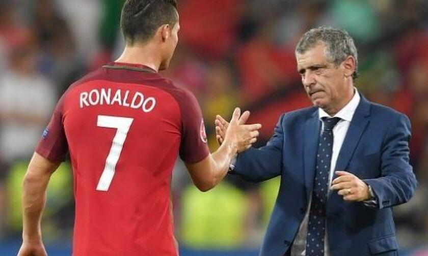 Σάντος: «Σε υψηλό επίπεδο μέχρι τα 39 του ο Ρονάλντο»