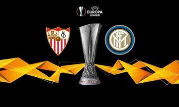 Σεβίλλη-Ίντερ: Τελικός Europa League από τρία κανάλια και μέσω Youtube