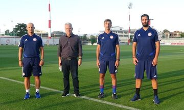 Tρεις νέοι συνεργάτες στην Ακαδημία του Ολυμπιακού