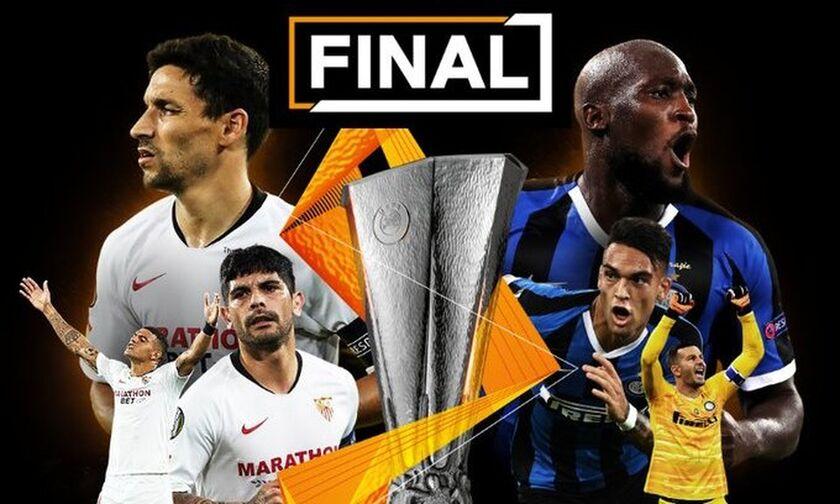 Σεβίλλη-Ίντερ: Οι ενδεκάδες του τελικού του Europa League
