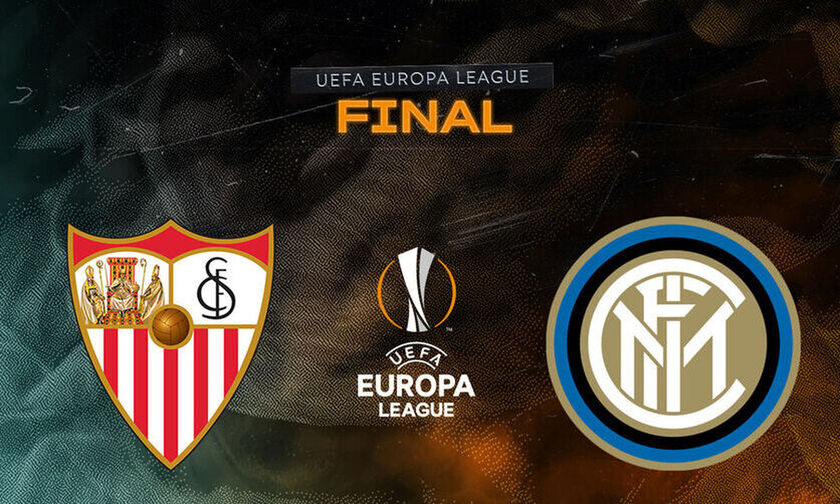 LIVE Streaming ο τελικός του Europa League: Σεβίλη - Ίντερ