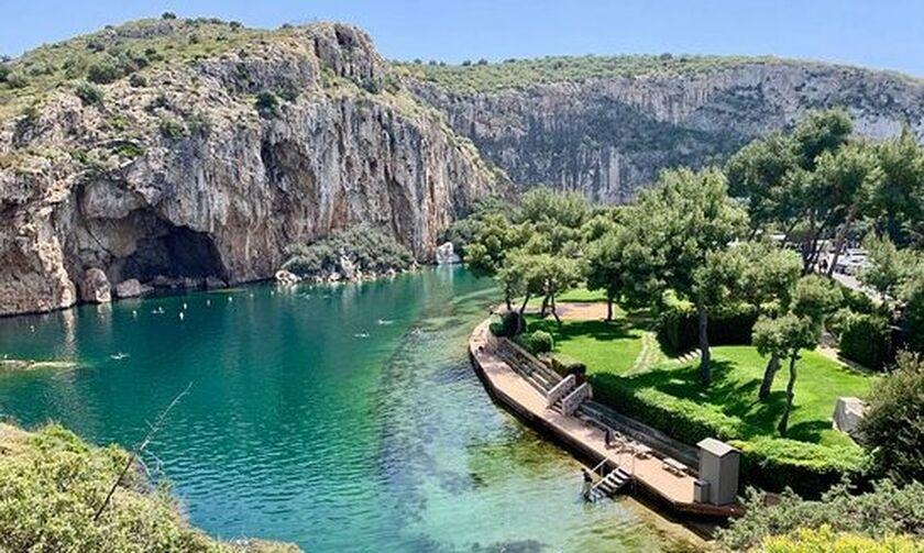 «Λουκέτο» για 48 ώρες στη Λίμνη Βουλιαγμένης