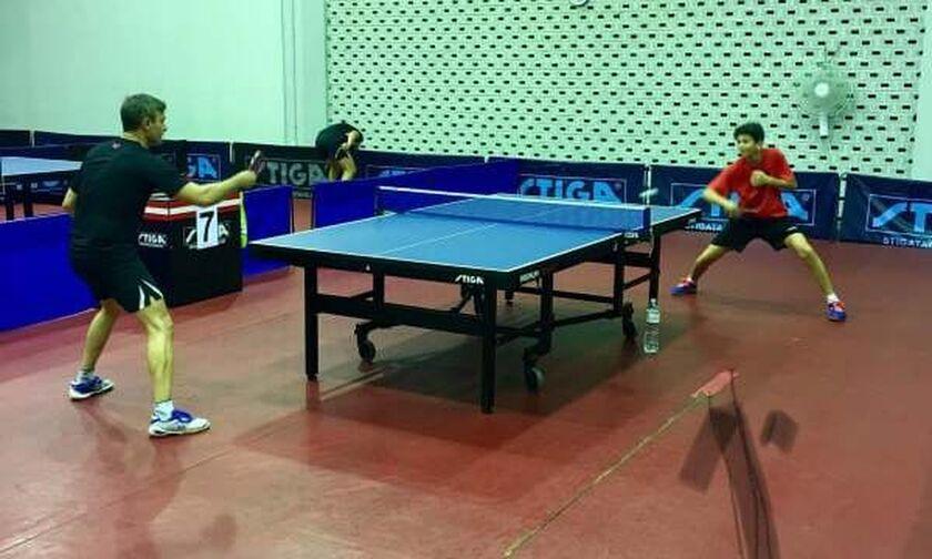 Προβλήματα στην αίθουσα επιτραπέζιας αντισφαίρισης του ΣΕΦ