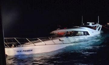 Σήμα κινδύνου από σκάφος με μετανάστες και πρόσφυγες ανοιχτά της Ρόδου