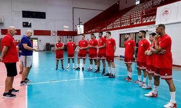 Ολυμπιακός: Ενημέρωσε βόλεϊ και χάντμπολ για τον κορονοϊό