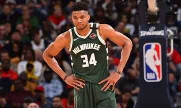 NBA: Τριπλή παρουσία Αντετοκούνμπο στο top 10 (vid)