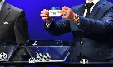UEFA Champions League: Το κανάλι για την κλήρωση του Ολυμπιακού - Οι ημερομηνίες των αγώνων