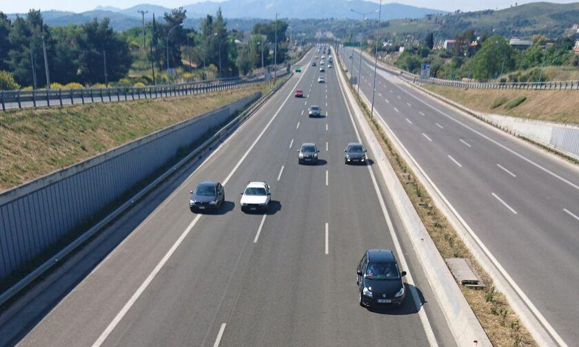 Κυκλοφοριακές ρυθμίσεις στην εθνική οδό Αθηνών-Θεσσαλονίκης