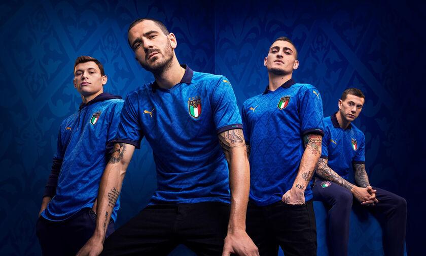 Εμπνευσμένη από την Αναγέννηση η νέα φανέλα της Εθνικής Ιταλίας!
