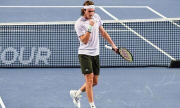 US Open: Εύκολη επικράτηση για Τσιτσιπά κόντρα στον Ράμος