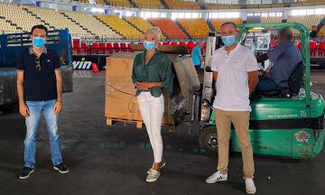 Το ΣΕΦ παραχώρησε 200 καθίσματα στα κλειστά γυμναστήρια της Σαλαμίνας