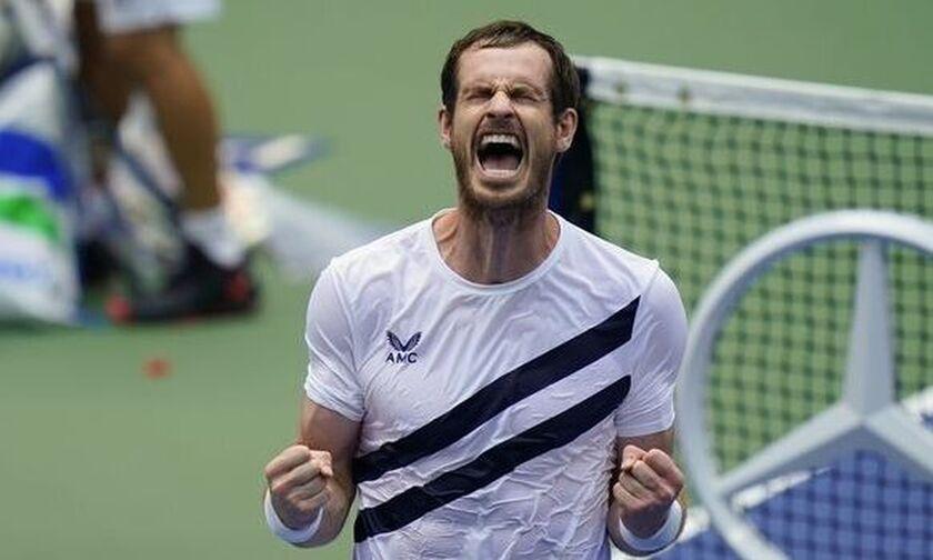 US Open: Επική ανατροπή του Άντι Μάρεϊ