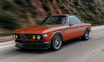 Η BMW 3.0 CS με μοτέρ M5 του Iron Man!