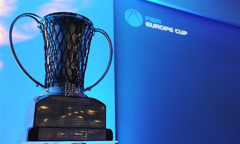 Λόγω κορονοϊού το FIBA Europe Cup θα ξεκινήσει στις 6 Ιανουαρίου