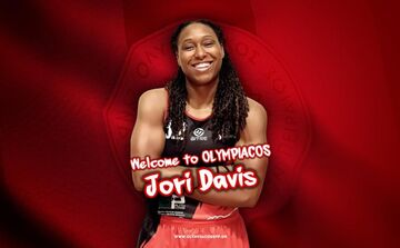 Ολυμπιακός: Ανακοινώθηκε η Ντέιβις