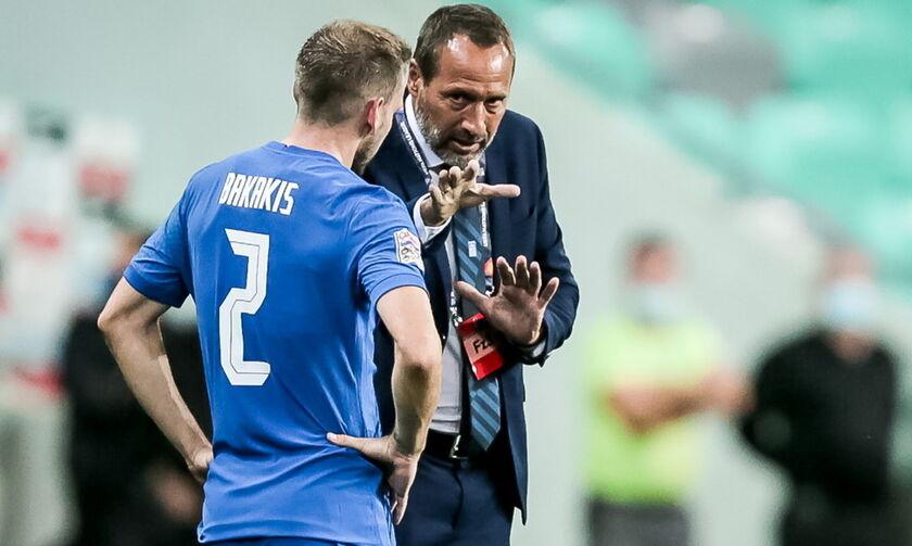 Σλοβενία-Ελλάδα 0-0: Φαν'τ Σίπ: «Παίξαμε ωραίο ποδόσφαιρο»