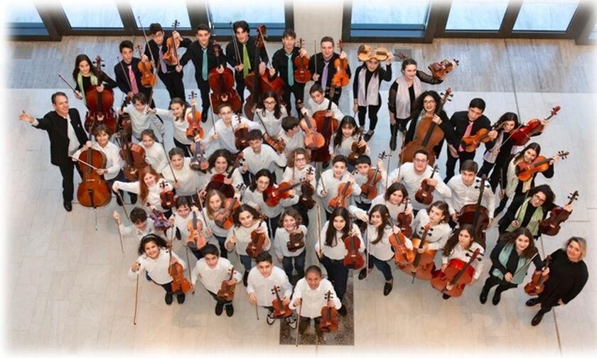 Η Κρατική Ορχήστρα Αθηνών και ο μαέστρος Μιχαηλίδης στον Κήπο του Μεγάρου Μουσικής