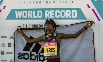 Παγκόσμιο ρεκόρ στον ημιμαραθώνιο από την Τζεπτσιρτσίρ (pic)