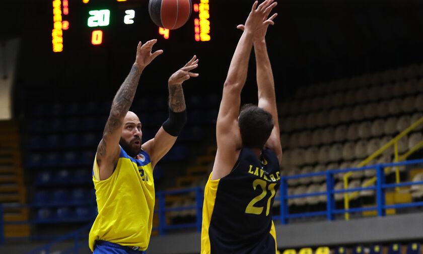Το Περιστέρι νίκησε 76-55 το Λαύριο σε φιλικό