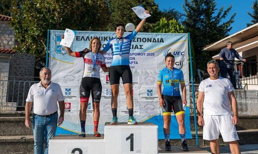 Ποδηλασία: Πρωταθλήτρια η Χατζηστύλη στον δρόμο αντοχής