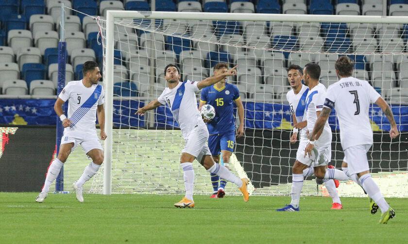 Κόσοβο - Ελλάδα: Γκολ ο Λημνιός στο 2' για το 0-1 (vid) - Fosonline