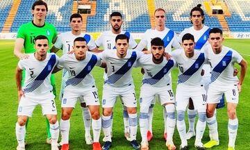Αγχωτική νίκη της Εθνικής Ελπίδων στο Σαν Μαρίνο με 1-0
