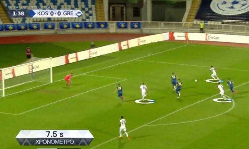 Ψηφιακή ανάλυση των γκολ της Εθνικής ομάδας (vid)