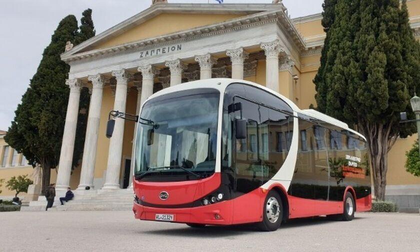 Μετρό «Άγιος Ιωάννης» - Άνω Κυψέλη: Δοκιμαστικό δρομολόγιο με ηλεκτρικό λεωφορείο