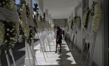 Η κηδεία του Αλέξη Σταϊκόπουλου