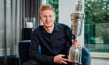 Premier League: Παίκτης της χρονιάς ο Κέβιν Ντε Μπρόινε - Κορυφαίος νέος ο Αλεξάντερ Άρνολντ