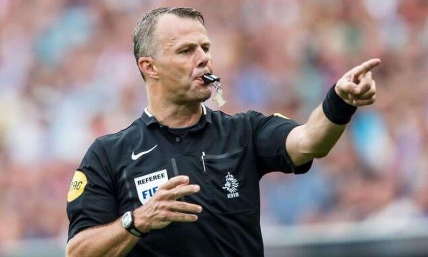 Ο Ολλανδός Κάιπερς διαιτητής στον τελικό του Κυπέλλου