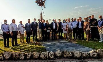 Αποκαλυπτήρια μνημείου για τους Έλληνες θαλασσοπόρους στη Ρόδο