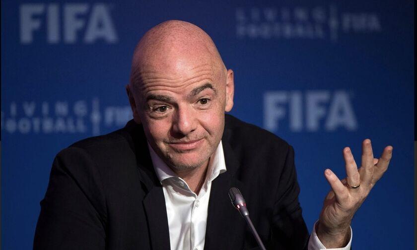 Ινφαντίνο: «Πάνω από 4 δις οι ζημιές στο ποδόσφαιρο»