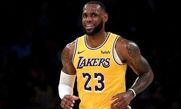 NBA: Πρωτιά Τζέιμς στο top 5 (vid)