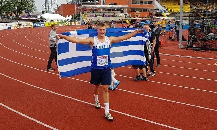 Πρωτιά Φραντζεσκάκη σε σφυροβολία και πανελλήνιο ρεκόρ Κ20 από Δεληγιάννη σε 800μ. στο Σαμορίν (vid)