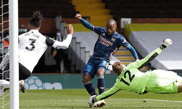 Φούλαμ - Άρσεναλ: Ο Λακαζέτ σκοράρει το πρώτο γκολ στη φετινή Premier League (vid)