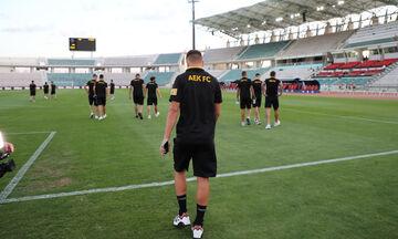 ΑΕΚ-Ολυμπιακός 0-1: Η ενδεκάδα της ΑΕΚ (pic)