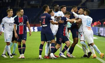 Ligue 1: Ιστορικό και επεισοδιακό «διπλό» στο Παρίσι η Μαρσέιγ (αποτελέσματα - βαθμολογία)