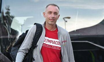 Ολυμπιακός: Χάρηκε το νταμπλ και ο Μίλαν Τόμιτς (pic)