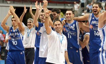 Η ΕΟΚ θυμήθηκε την επική πρόκριση της Εθνικής επί της Σλοβενίας στο Ευρωμπάσκετ 2007 (vid)