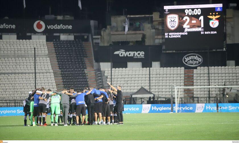 Ο ΠΑΟΚ έδωσε 300 βαθμούς στην Ελλάδα στη βαθμολογία της ΟΥΕΦΑ