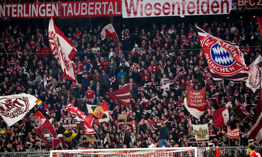 Bundesliga: Με 7.500 θεατές το Μπάγερν - Σάλκε