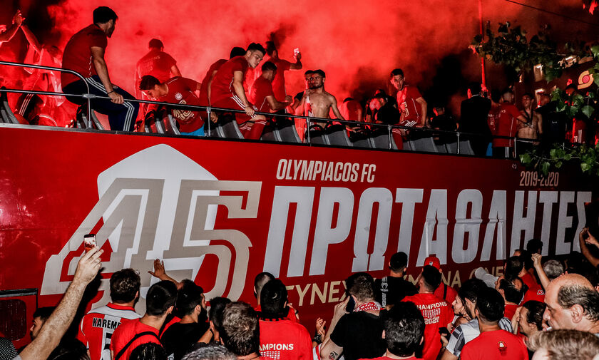 Ταινία Ολυμπιακού για το 45ο πρωτάθλημα: Η πρώτη προβολή (vid)