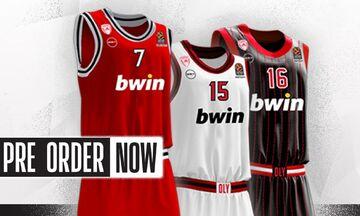 Ολυμπιακός: Στη διάθεση του κοινού οι νέες φανέλες της ομάδας από το Official Store (pics)
