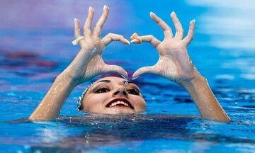 Καλλιτεχνική Κολύμβηση: Στην κορυφή η Ευαγγελία Πλατανιώτη